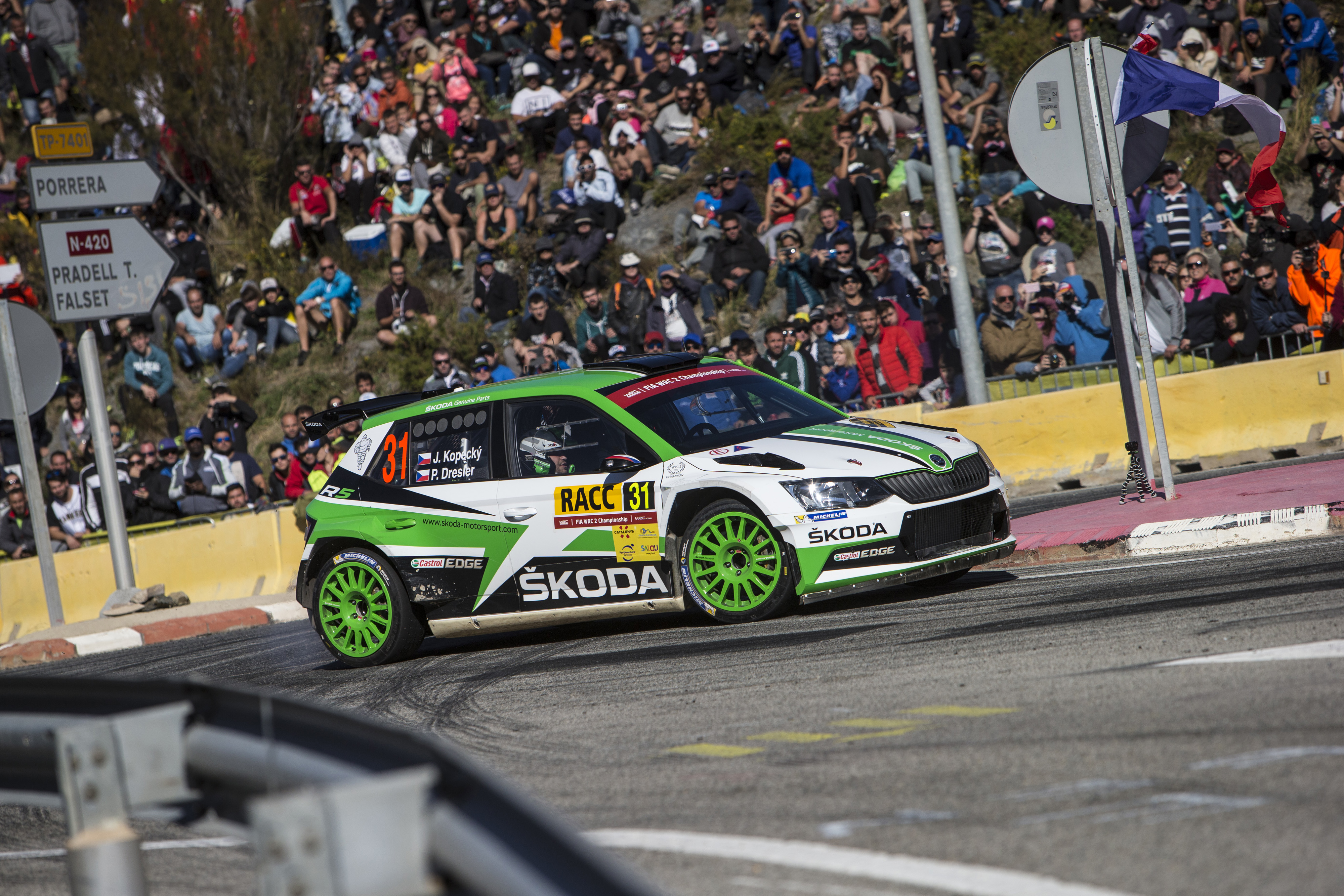 WRC Spain: Kopecký fastest on tarmac, storms to second in WRC 2 ...