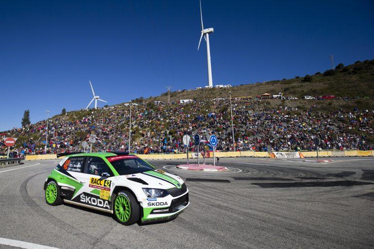 ŠKODA at Rally RACC Catalunya – Rallye de España