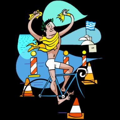 cyklista-ilustrace