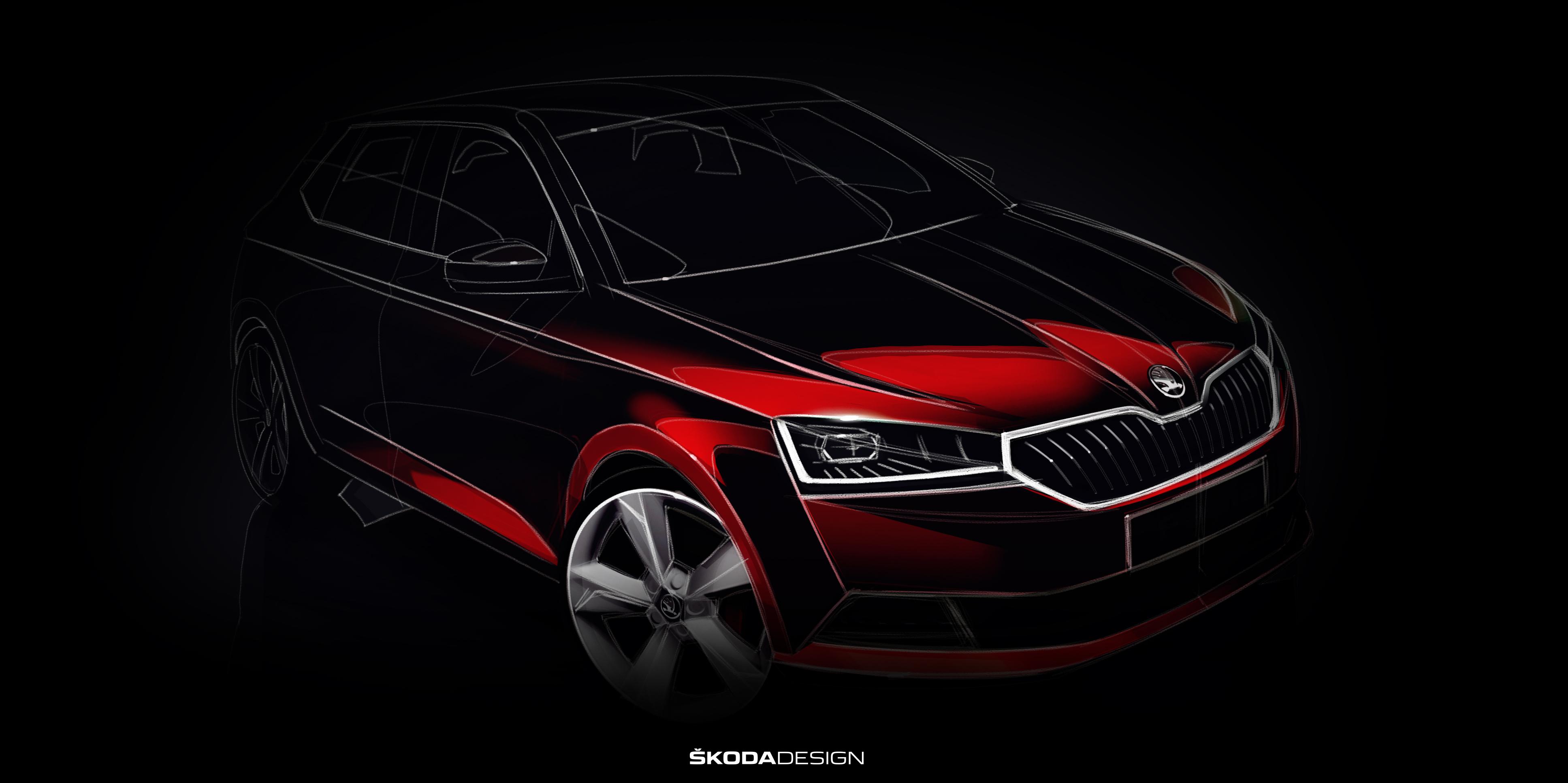 World Premiere Of The Updated ŠKODA FABIA At The Geneva Motor Show - Overhaul car show