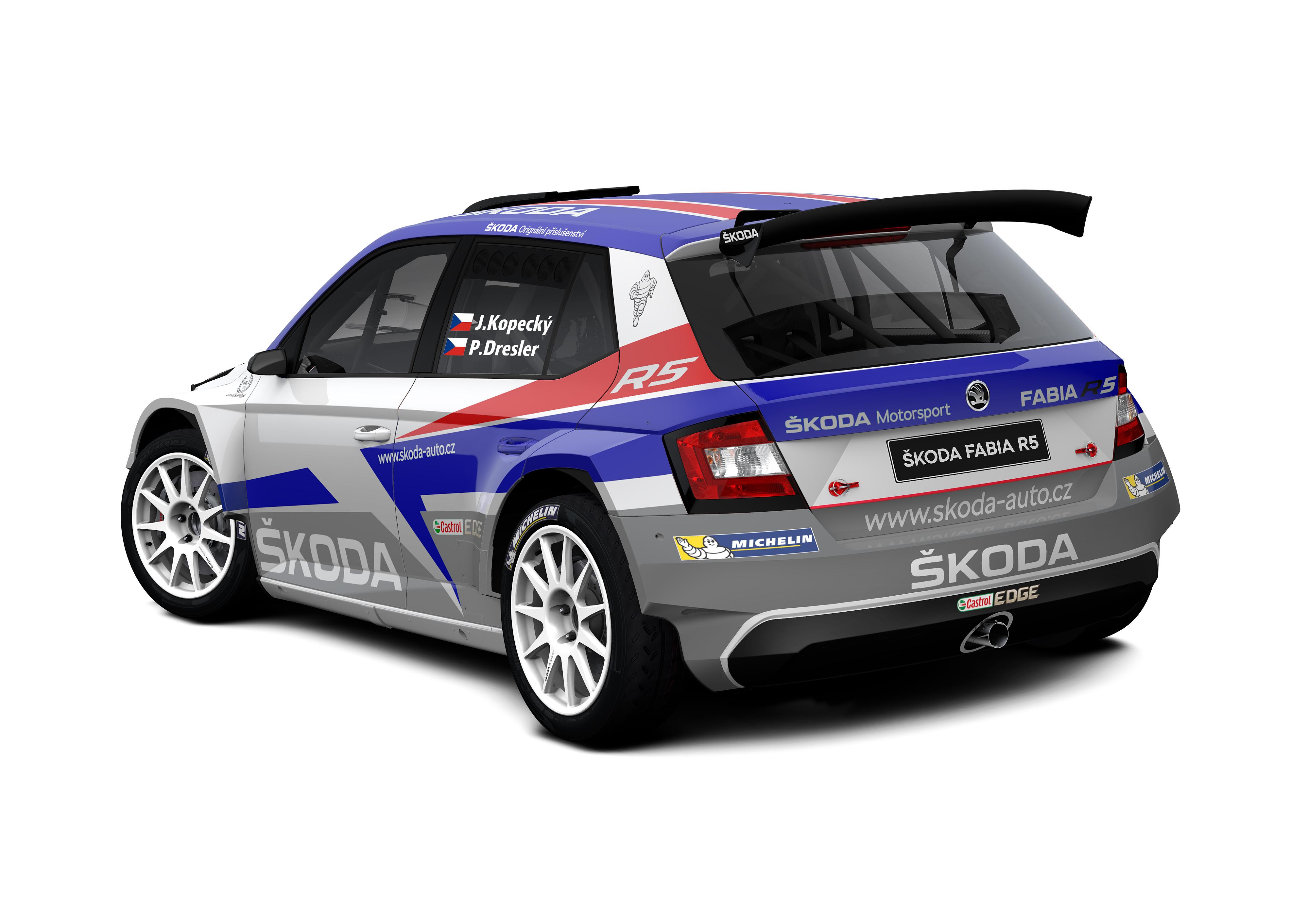 Three ŠKODA Motorsport Crews At Rally Monte Carlo Jan Kopecký - Car rally near me