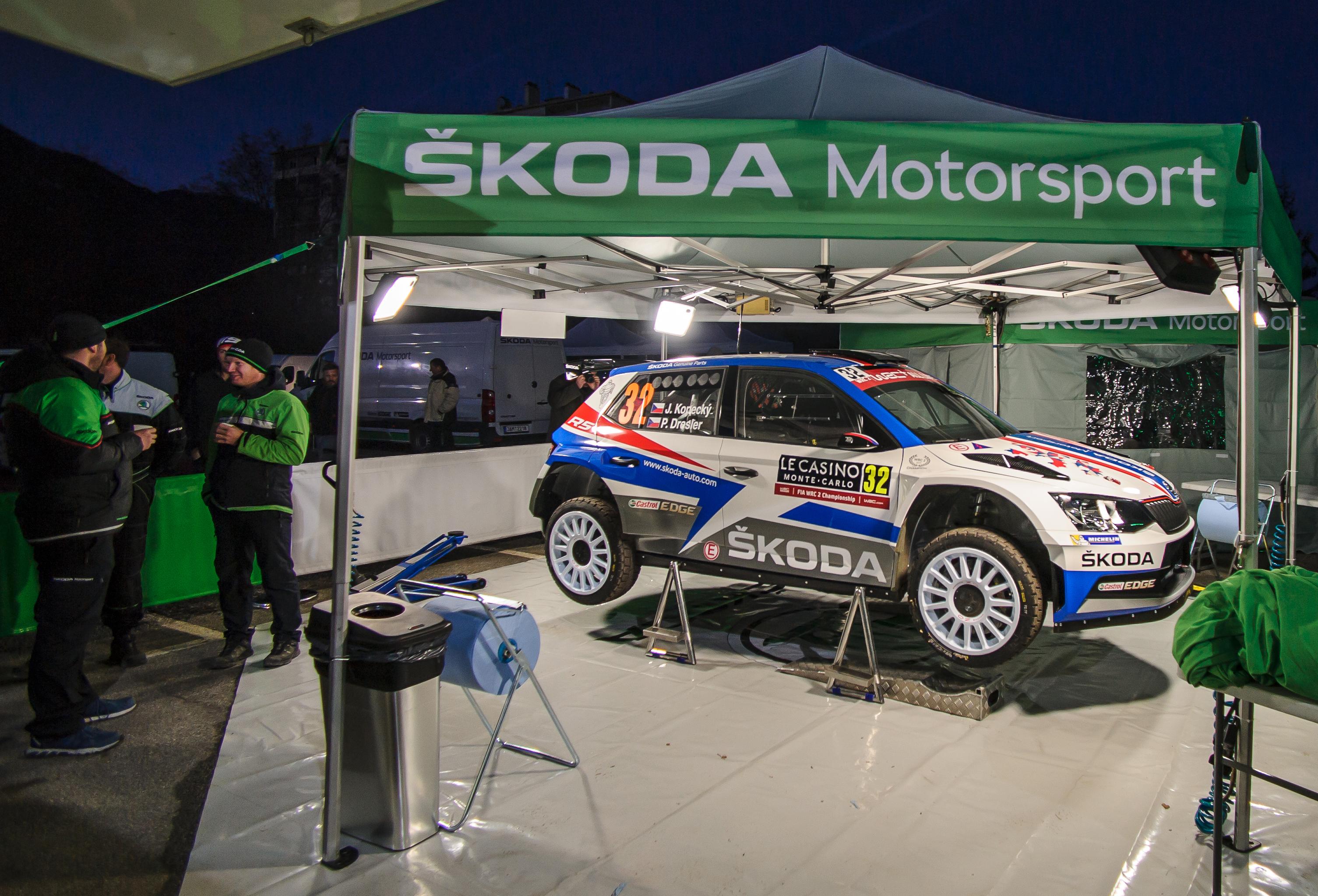 Rally Monte Carlo 2018 - ŠKODA Storyboard