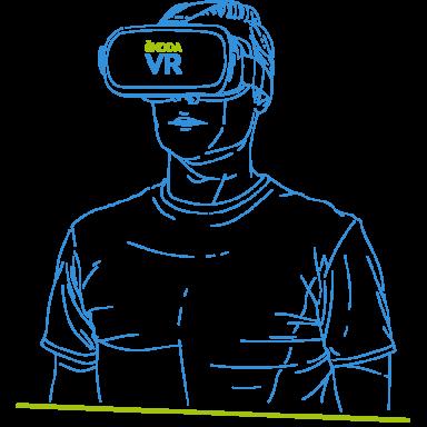 VR-ilustrace