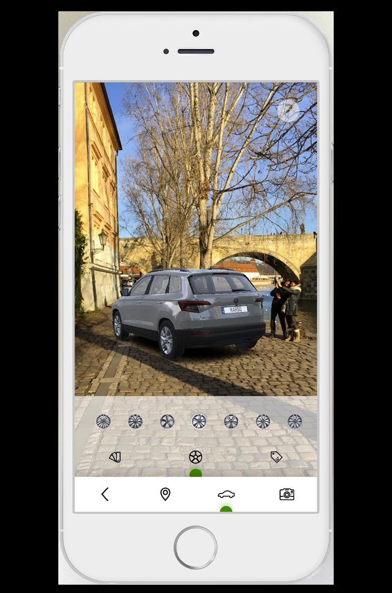 Aplikace - KAROQ