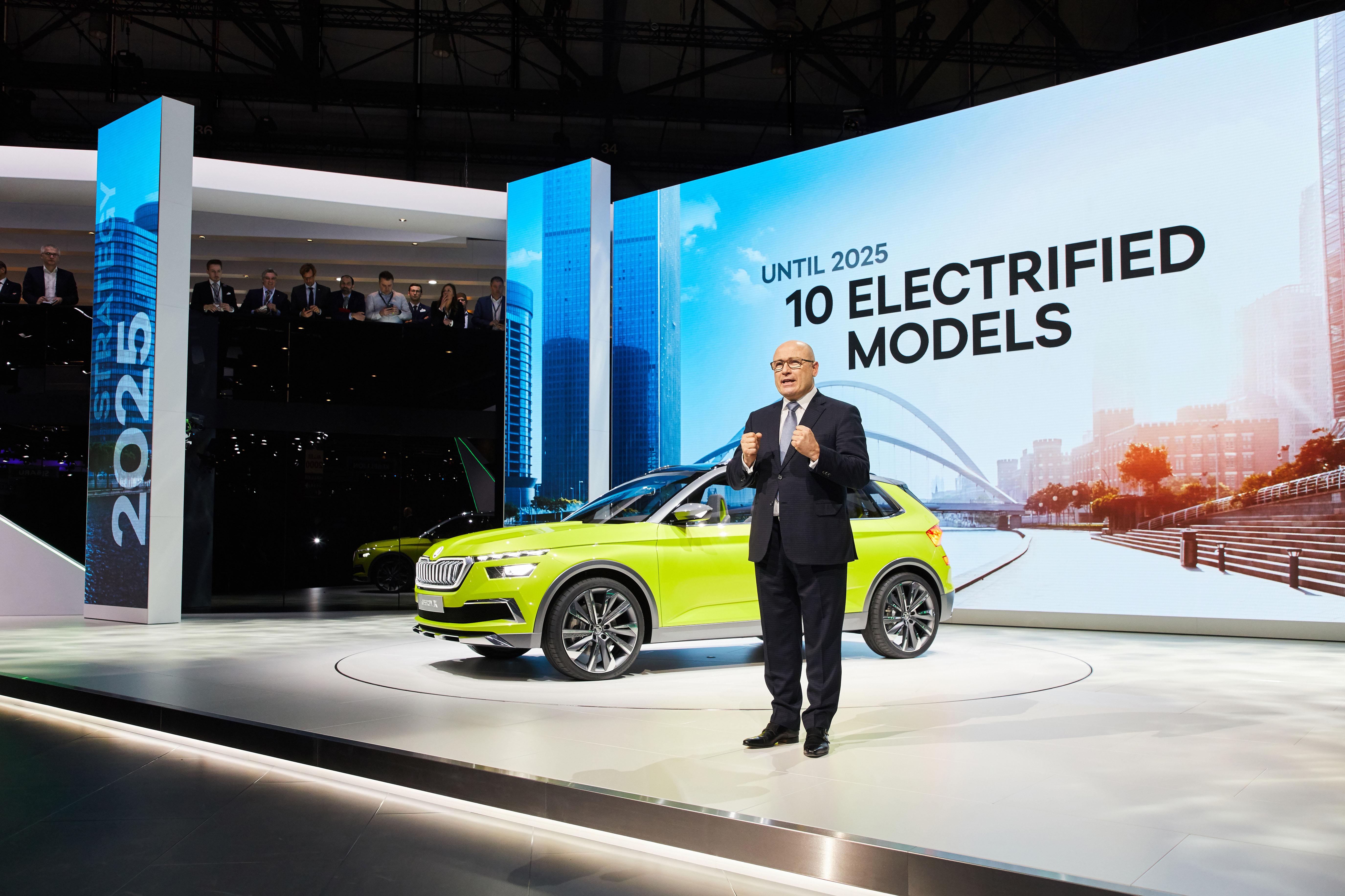 Geneva Motor Show ŠKODA AUTOs Presentation In Pictures - Car show videos