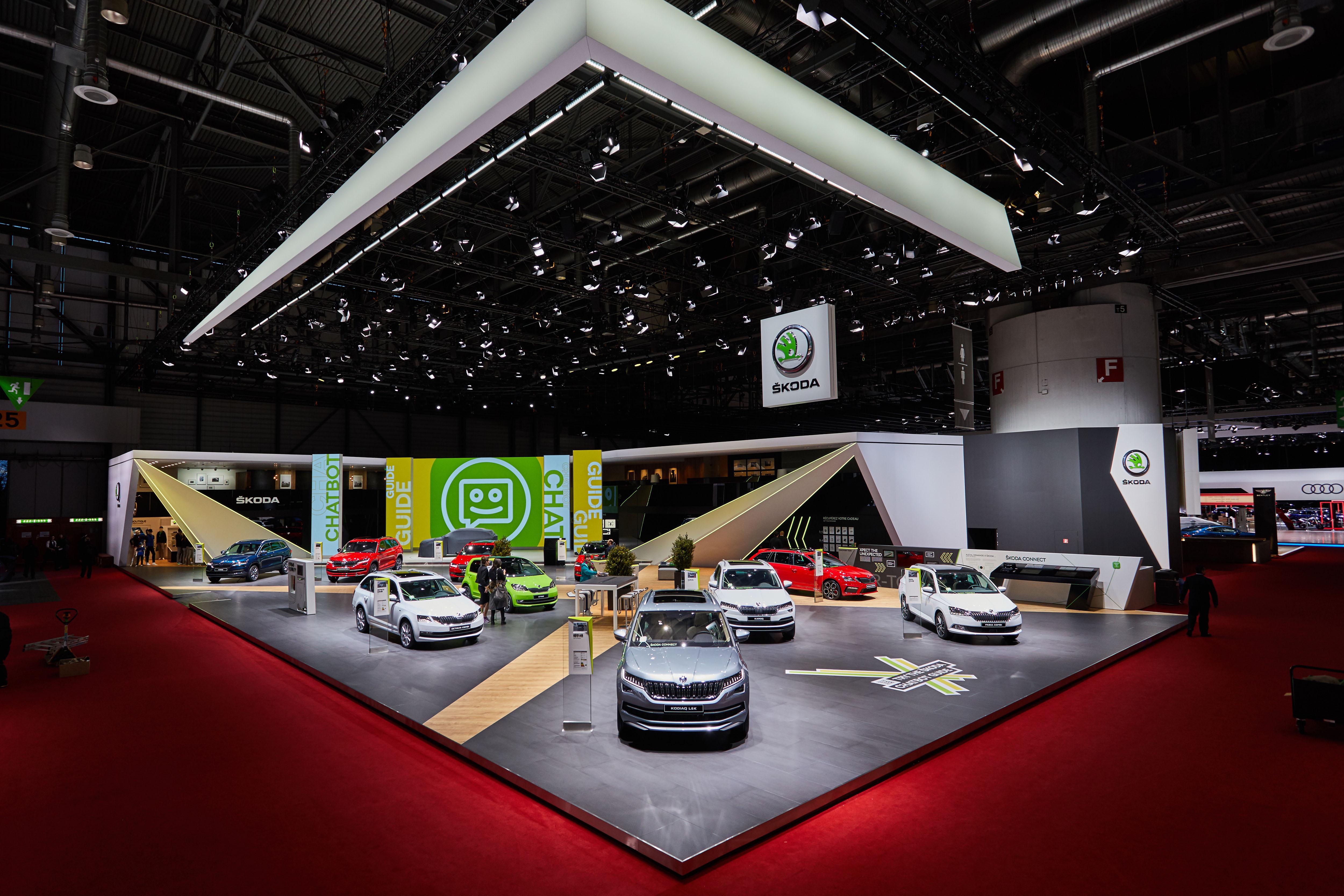Geneva Motor Show 2018 >> Geneva Motor Show 2018 Skoda Auto S Presentation In