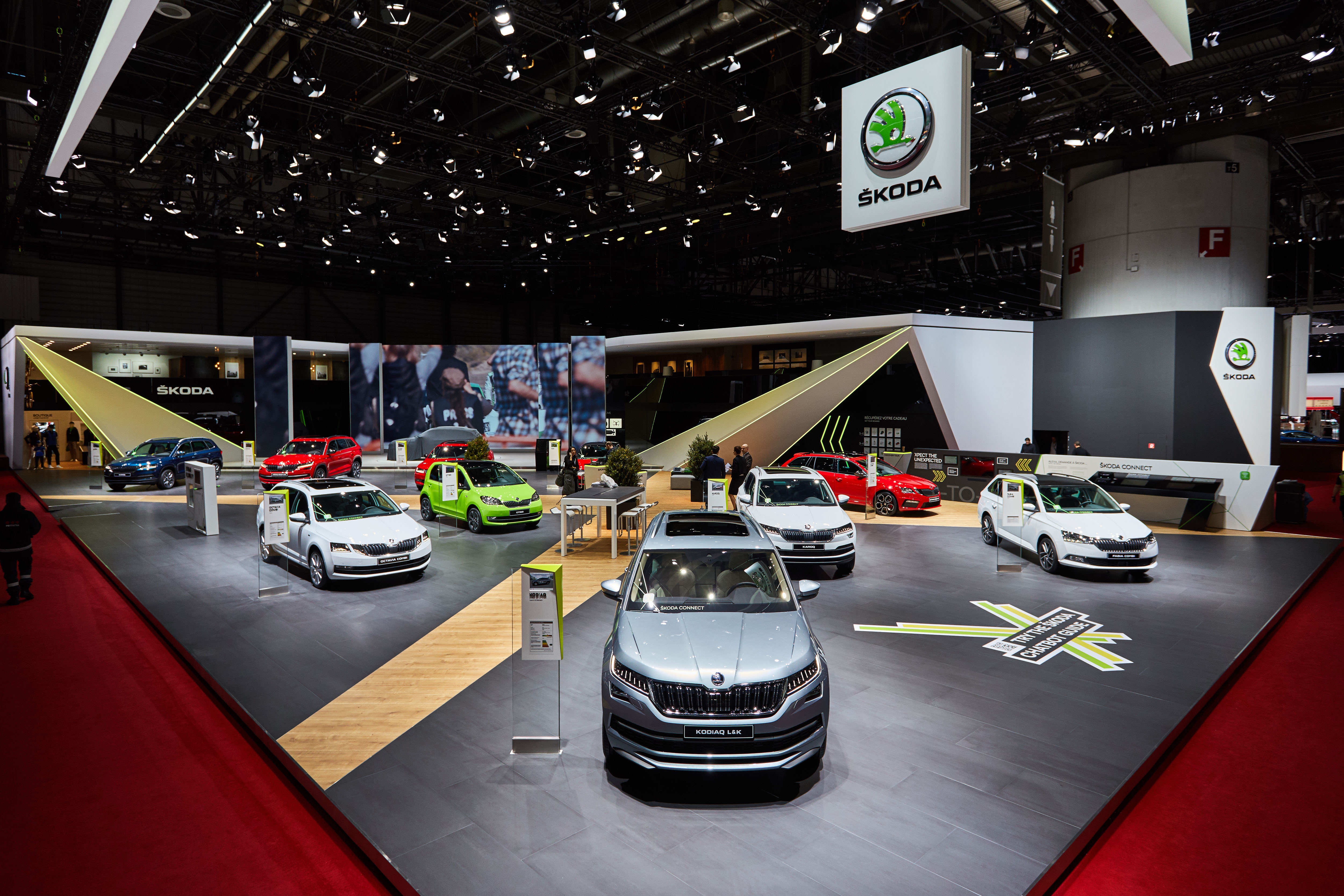 Geneva Motor Show ŠKODA AUTOs Presentation In Pictures - Geneva car show