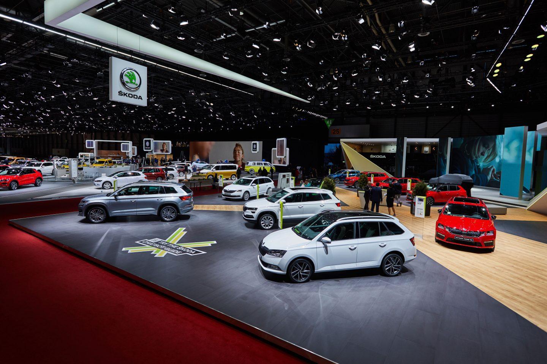Geneva Motor Show 2018 >> Skoda At The 2018 Geneva Motor Show Skoda Storyboard