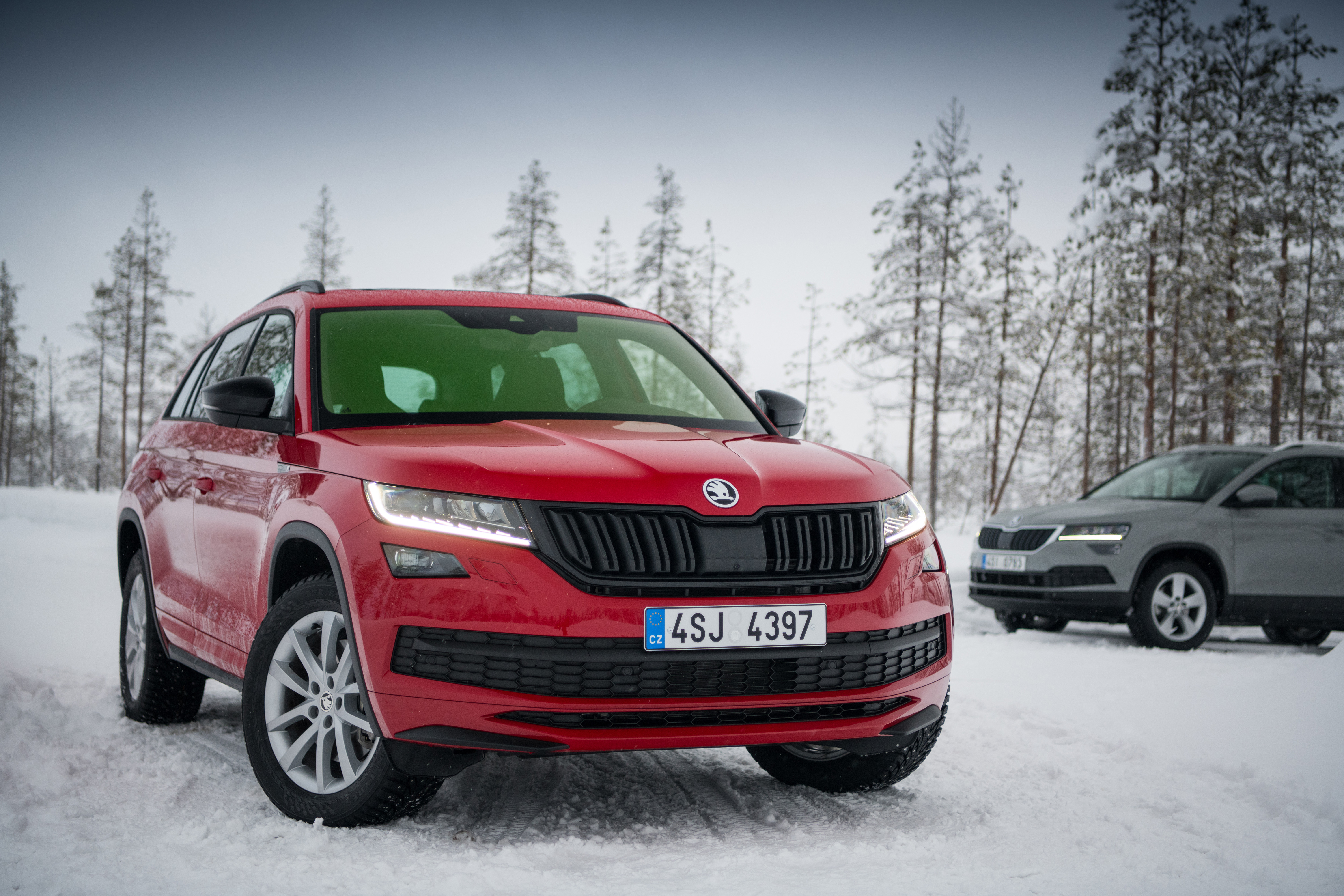 How Does The Skoda All Wheel Drive Work Off The Road