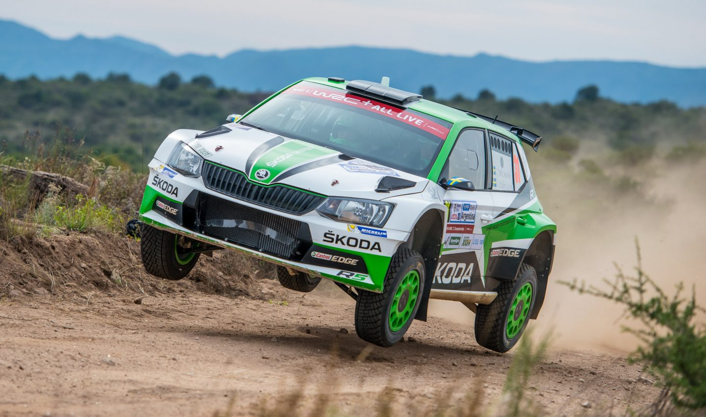 rally argentina double wrc 2 lead for koda with pontus tidemand ahead of kalle rovanper. Black Bedroom Furniture Sets. Home Design Ideas