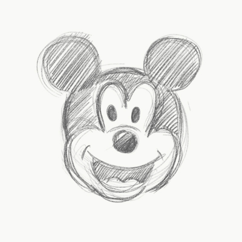 sketch-mickey-mouse