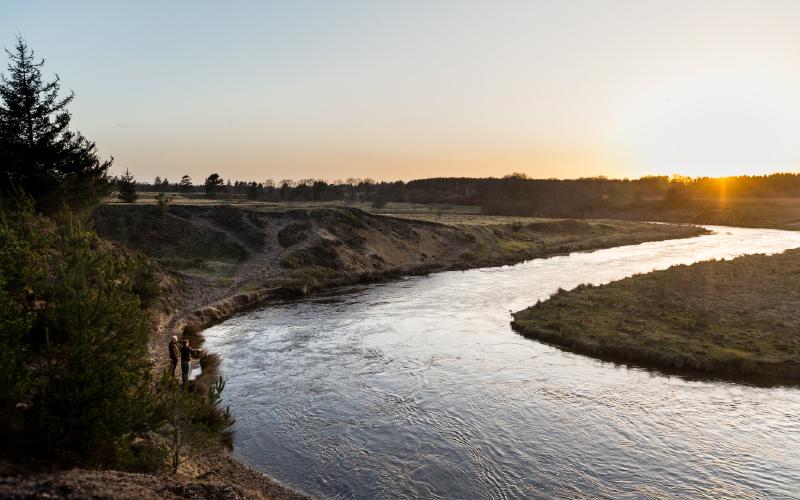 Skjern-river