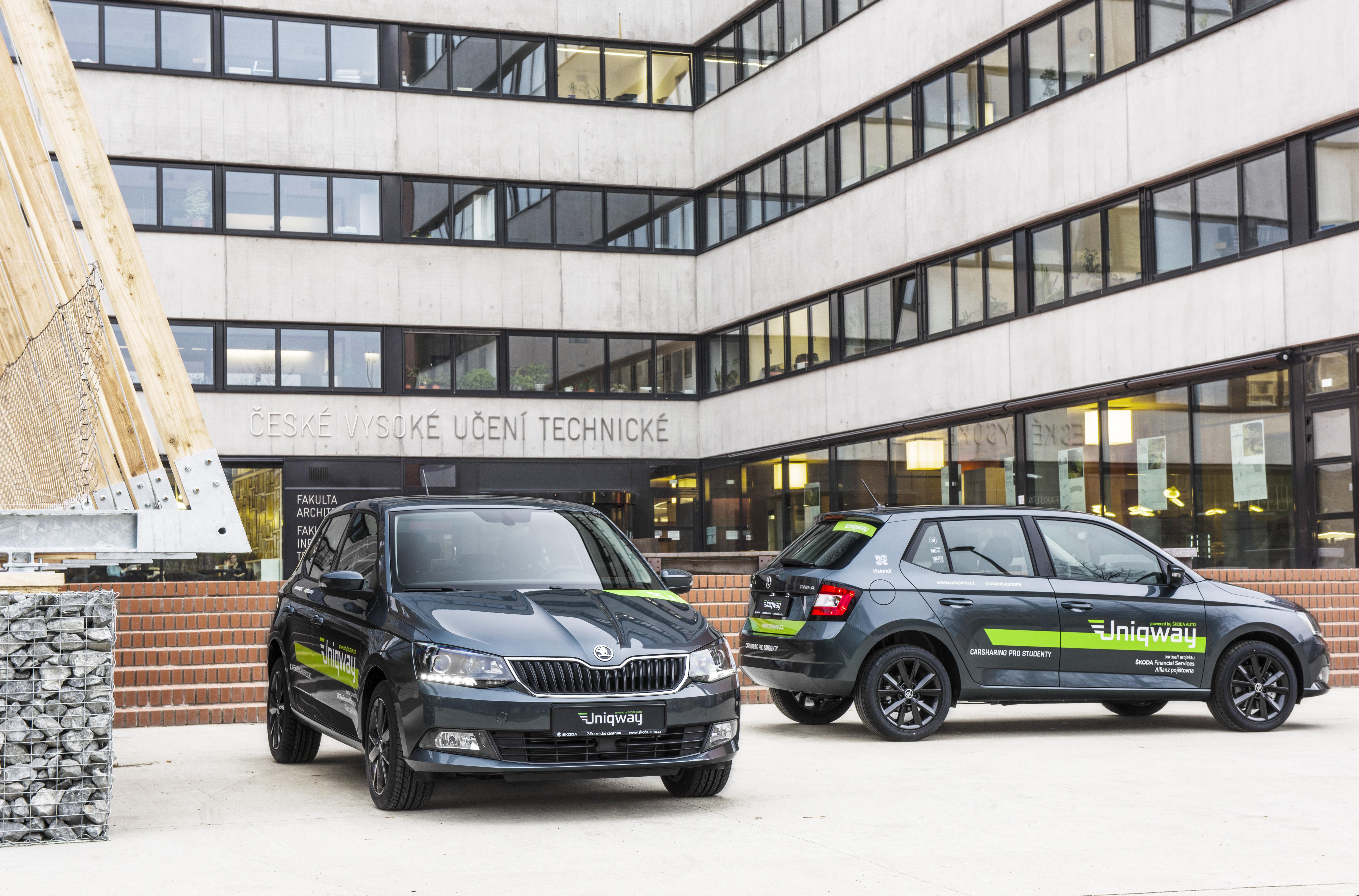 Skoda Auto Launches Car Sharing Platform Uniqway Skoda Storyboard