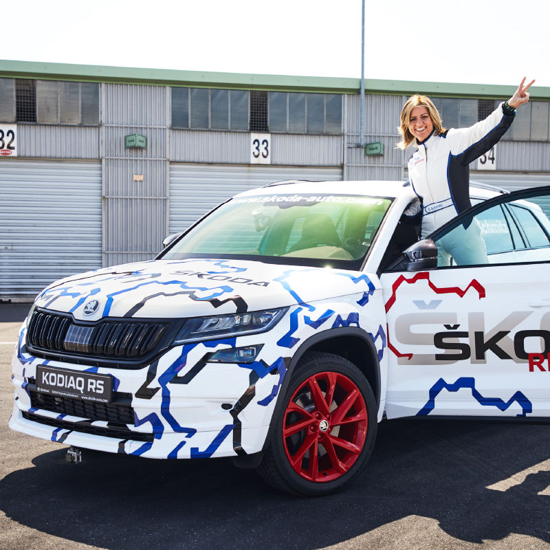 Sabine-in-Kodiaq-RS