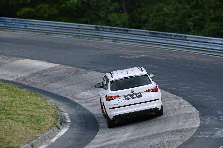 KODIAQ RS sets Nürburgring record