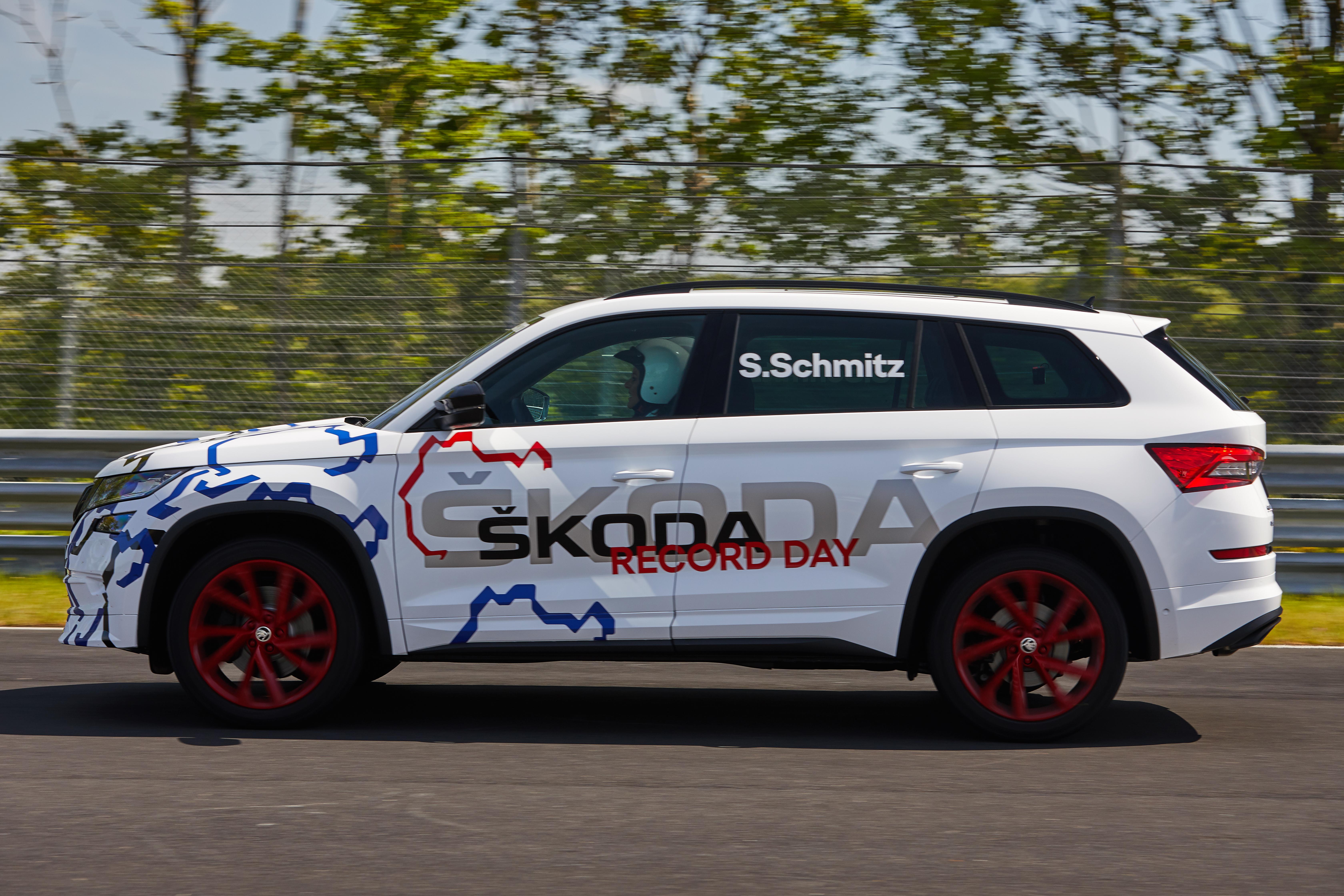 KODIAQ RS Sets Nürburgring Record - ŠKODA Storyboard