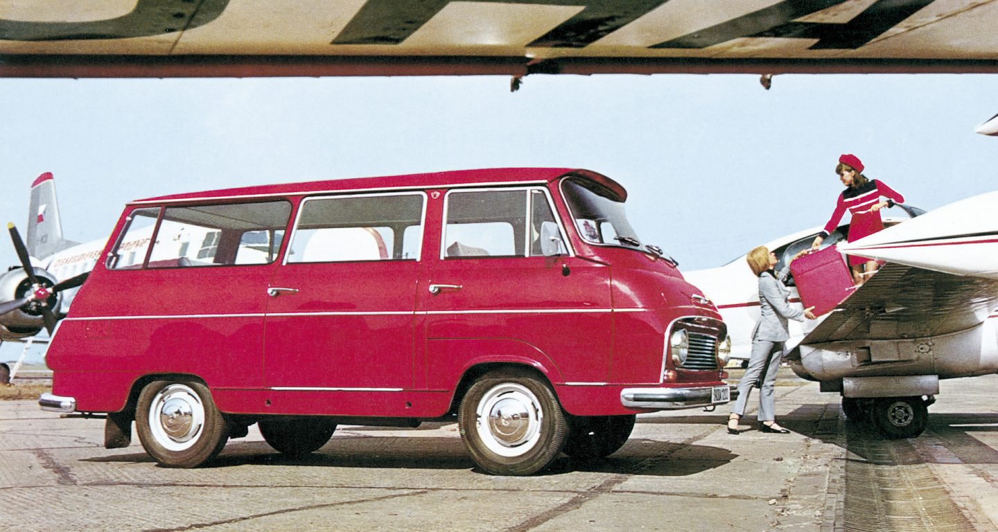 a light utility car, manufactured in the plant in Vrchlabí from 1968 to  1981. It was designed in different variants such as a van, a mini-bus, an  ambulance ...