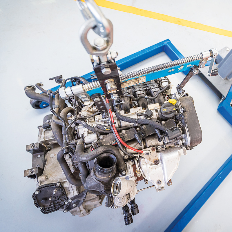Fabia-engine