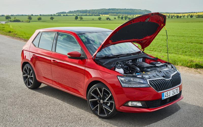 Fabia-red-engine