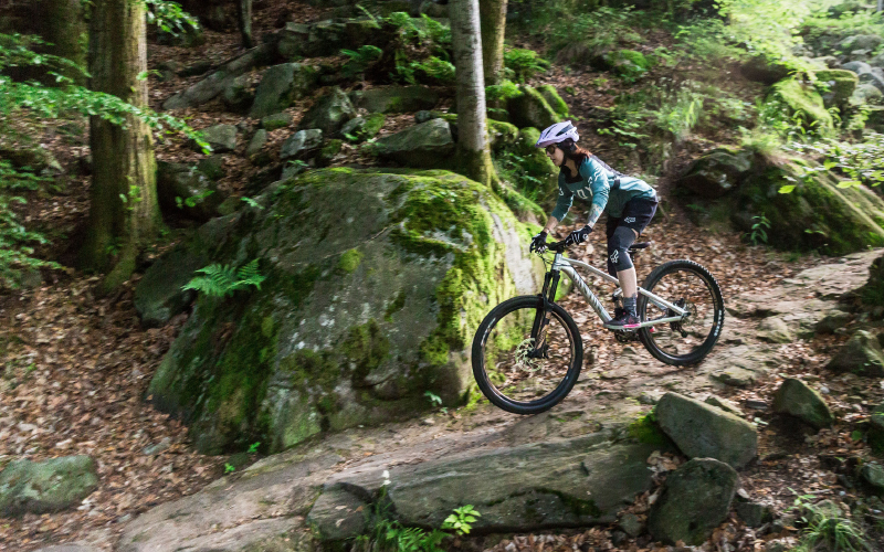 Nina-ride-bike