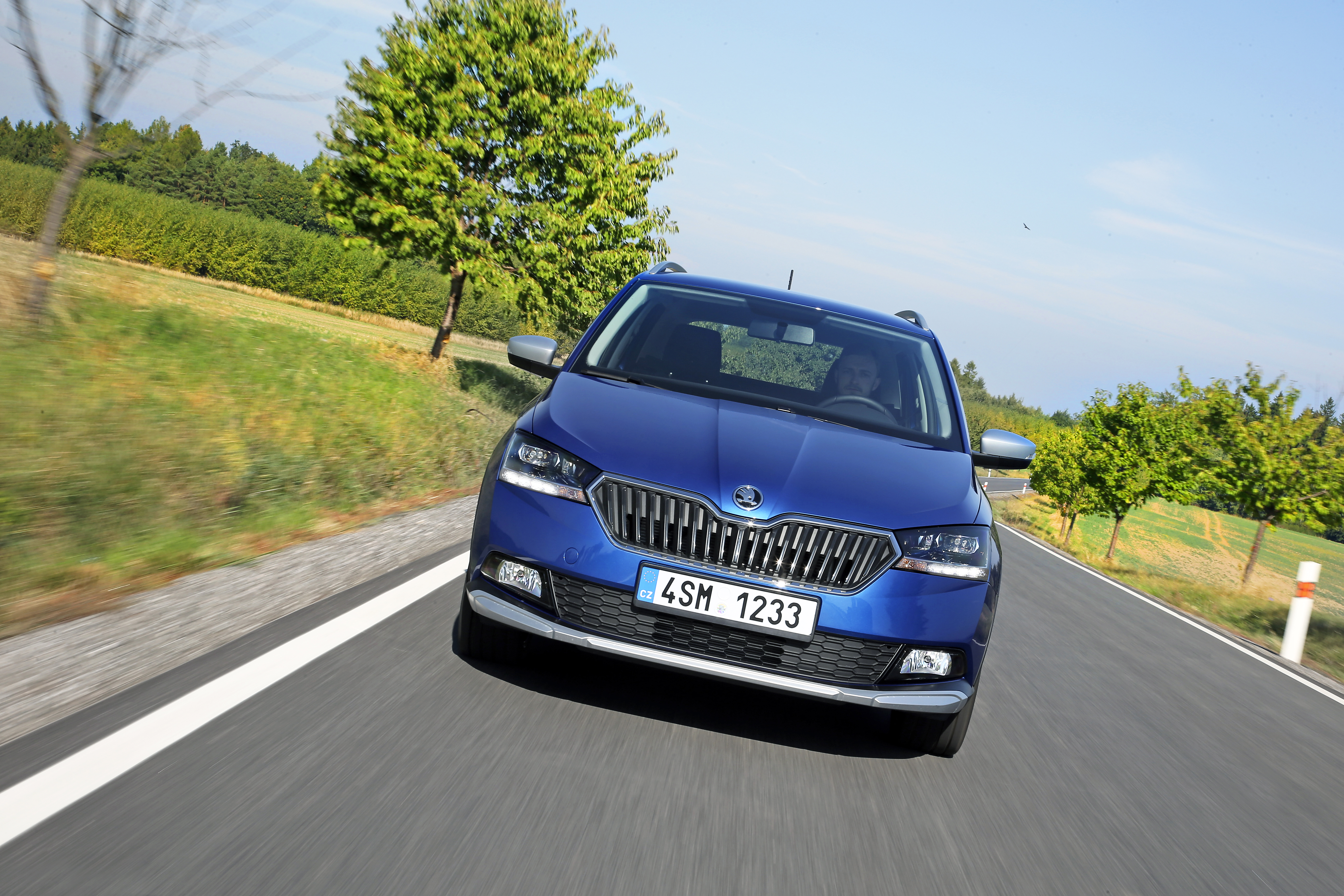 Skoda Fabia Combi Scoutline Robust Sporting Style With Off Road