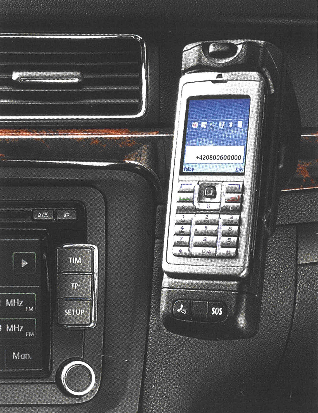 Bluetooth Audiostreaming Music From A Mobile Skoda Storyboard