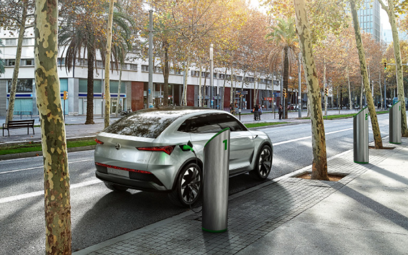 Future-mobility-Vision-E-charging-concept