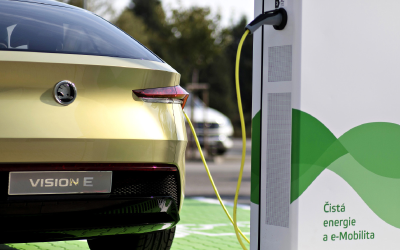 Future-mobility-Vision-E-charging-station