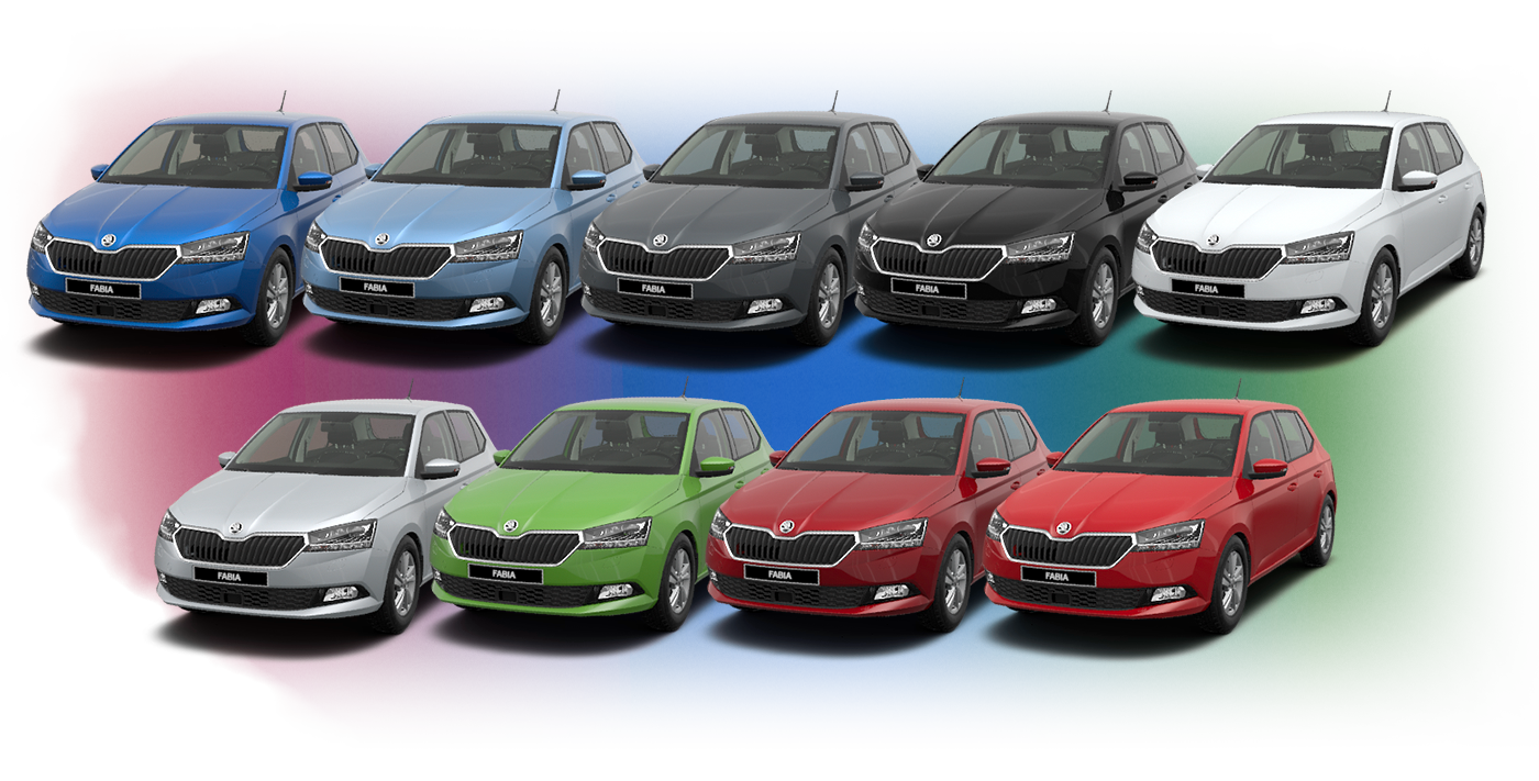 The five most prevalent colours from the škoda palette are pearl effect black magic quartz metallic grey white candy brilliant metallic silver and moon