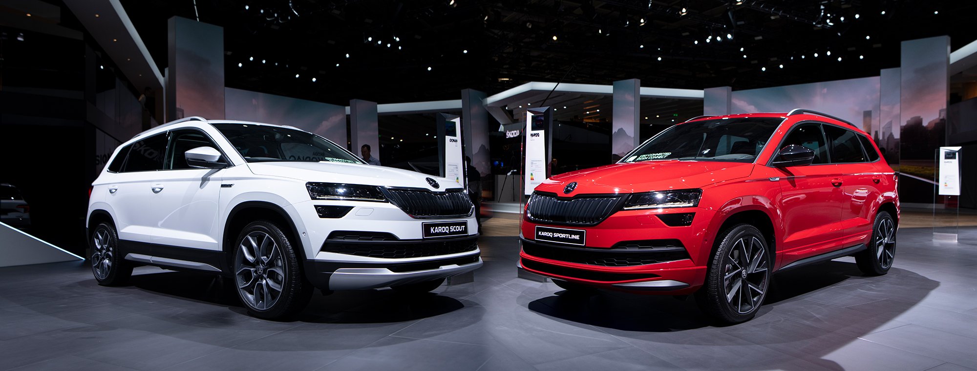 The Skoda Karoq Scout Versus The Sportline How To Tell Them Apart Skoda Storyboard