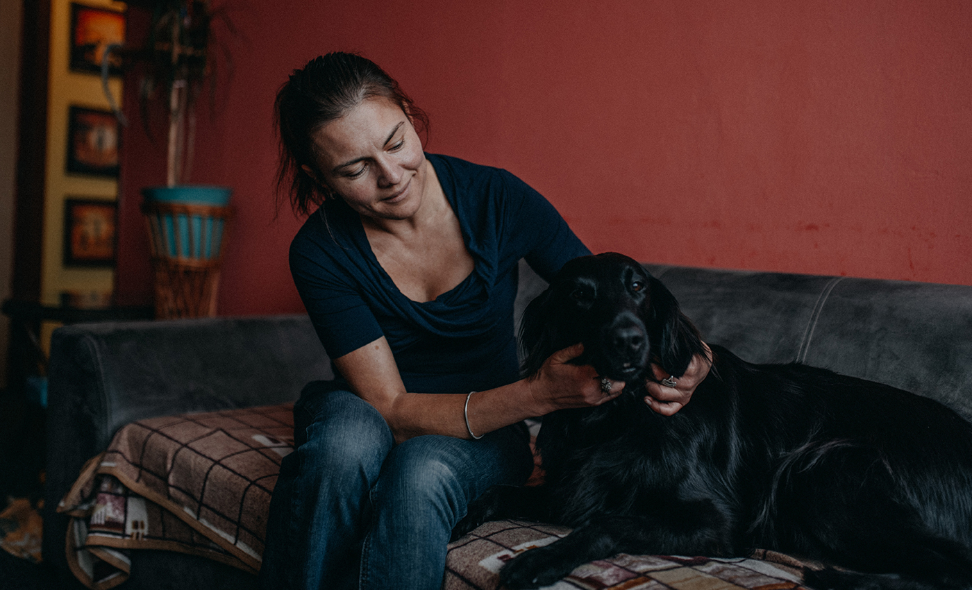 Hrabanova-with-dog