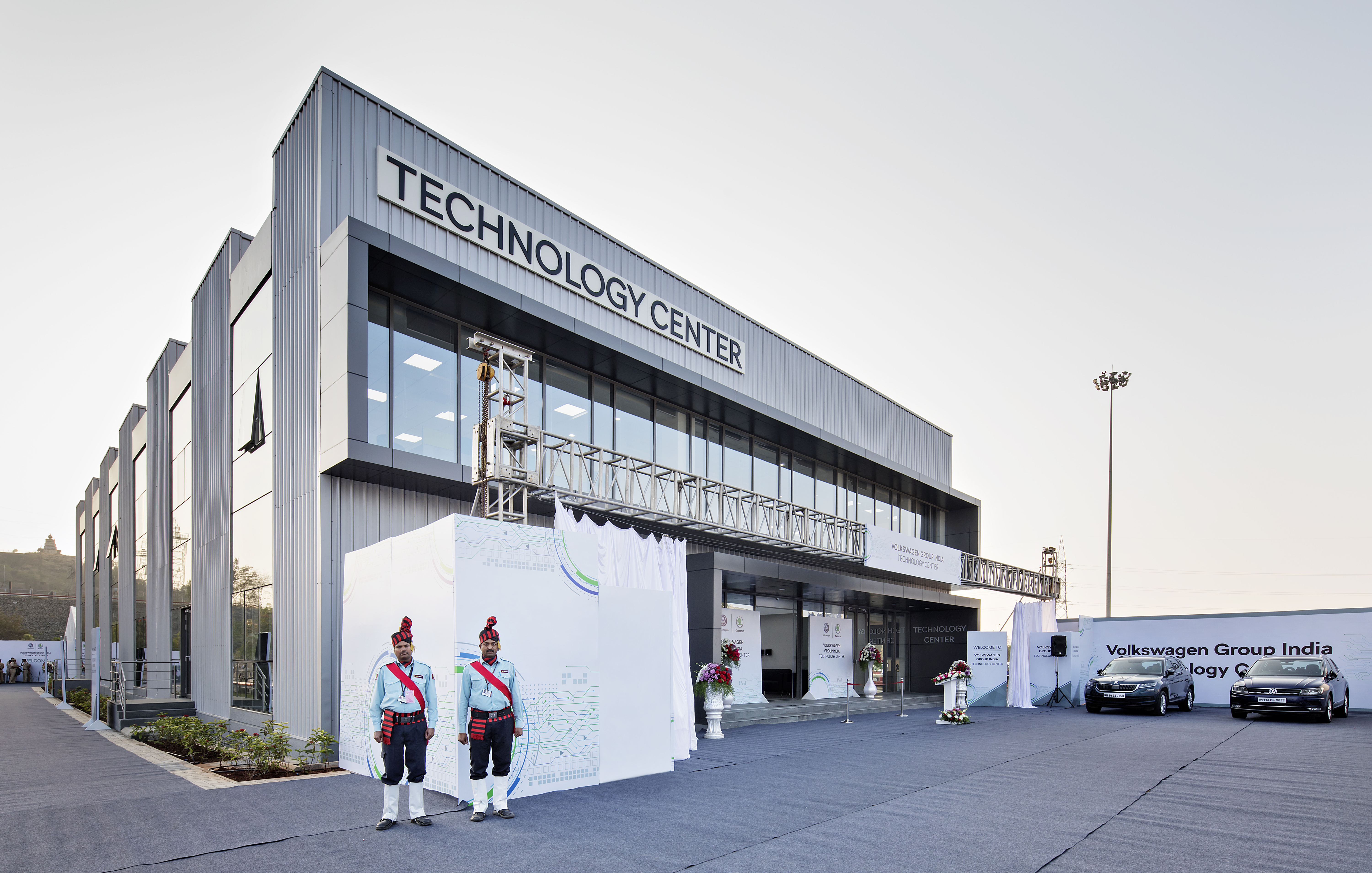INDIA 2 0 Project: ŠKODA and Volkswagen Group India open new