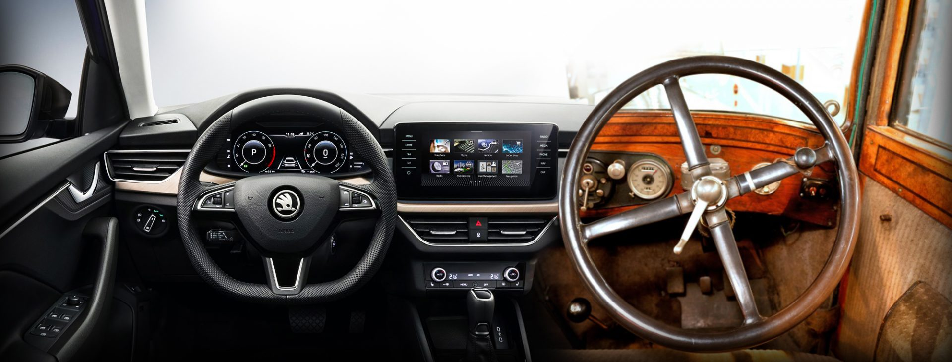 Steering Wheel On The Right No On The Left But Why Skoda Storyboard