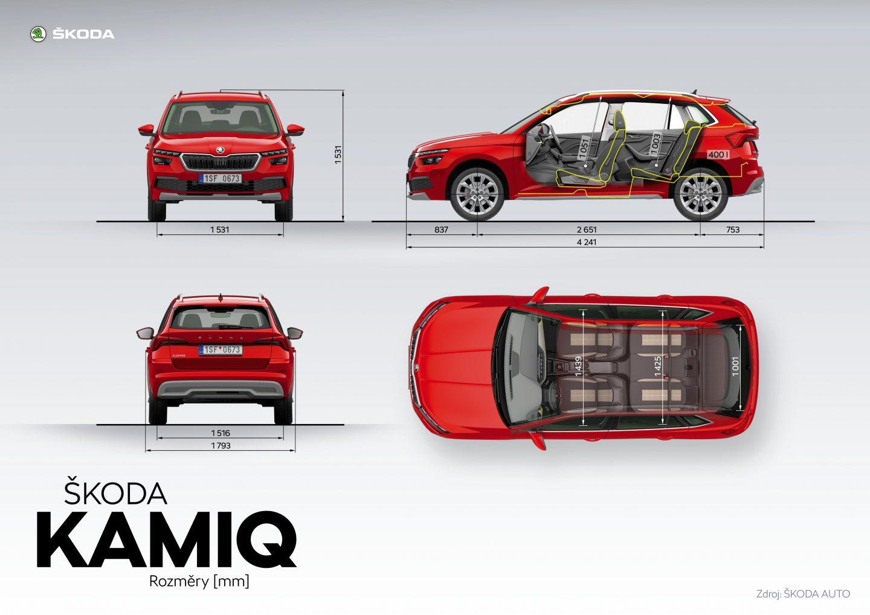 ŠKODA KAMIQ – nové městské SUV