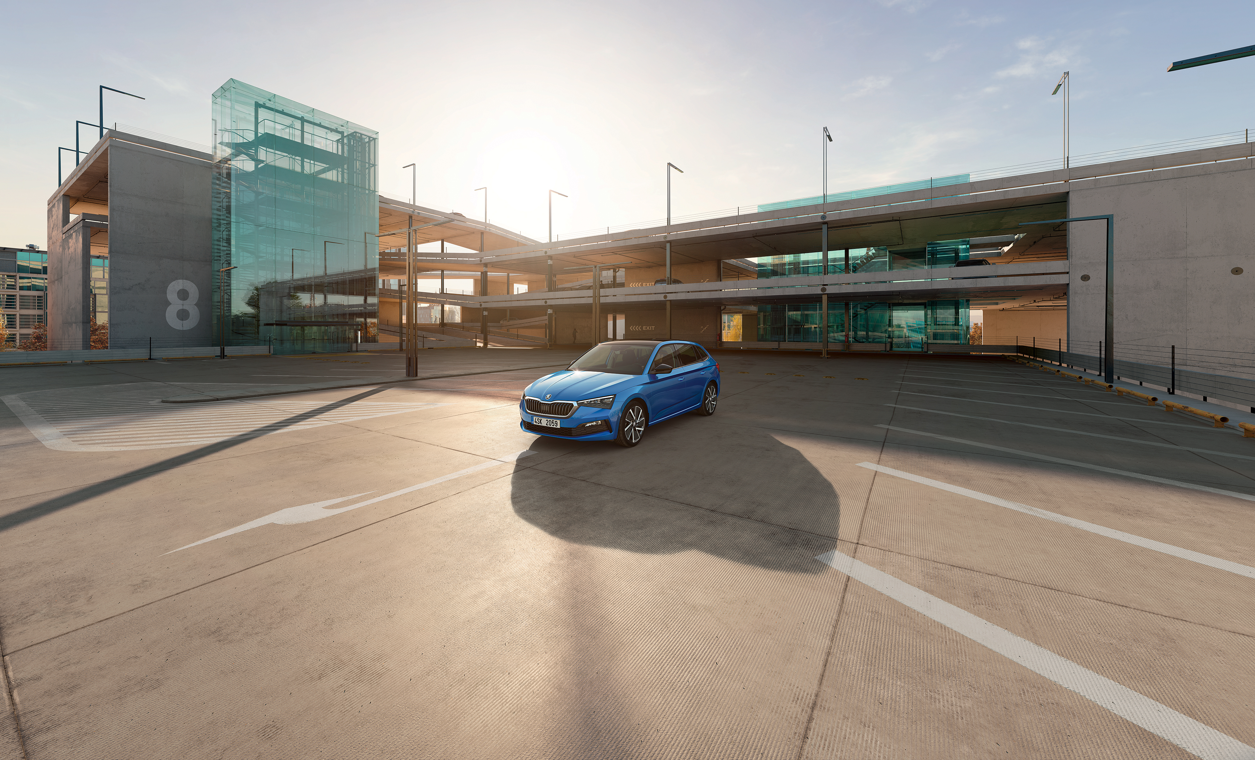 SKODA joins forces with Parkopedia to help drivers find parking spaces quicker and easier in real time - Image 2