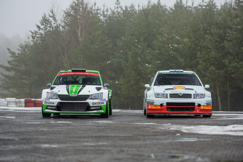 ŠKODA FABIA R5 a ŠKODA FABIA WRC
