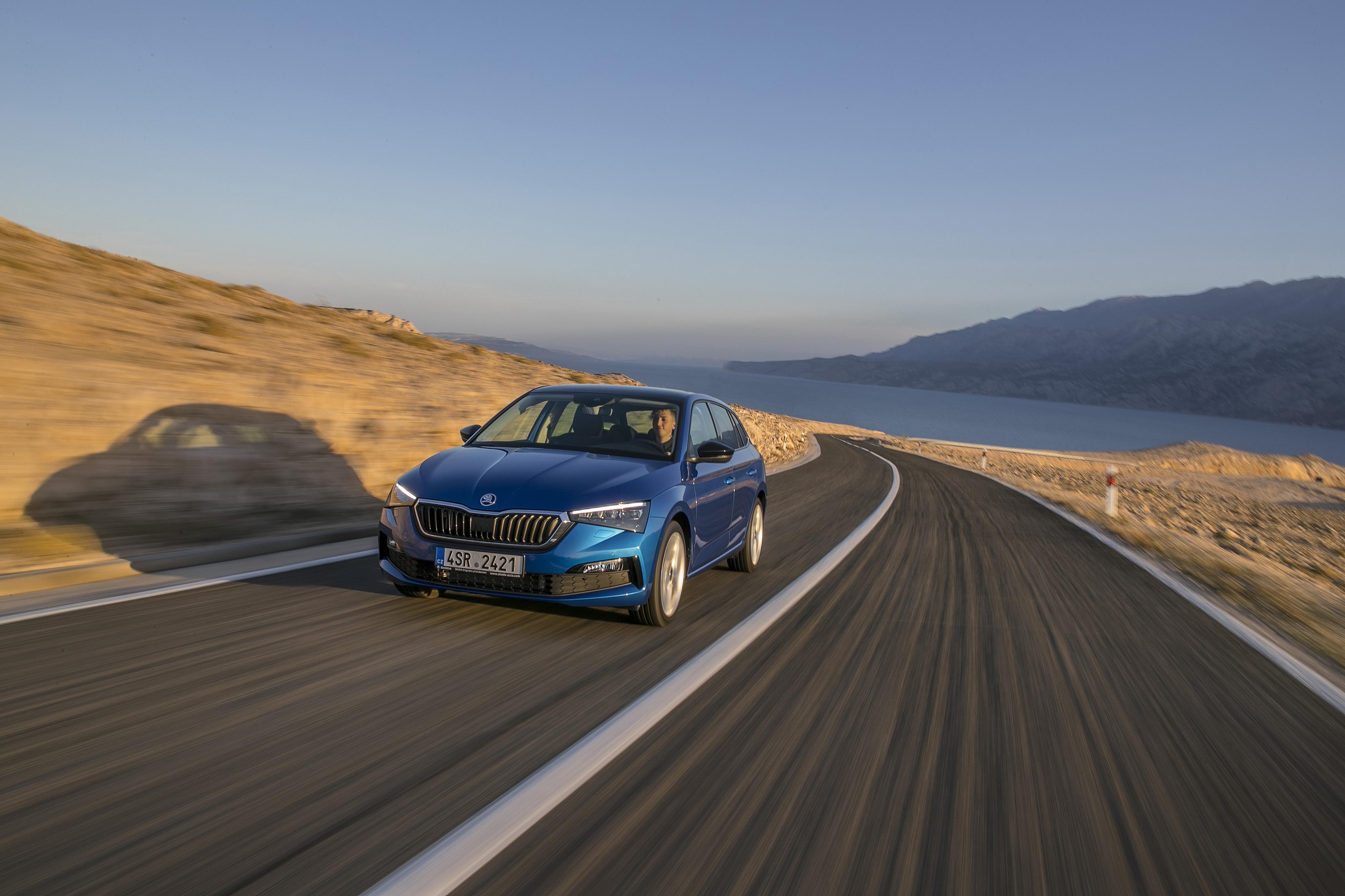 ŠKODA SCALA sets new benchmarks in the compact car segment