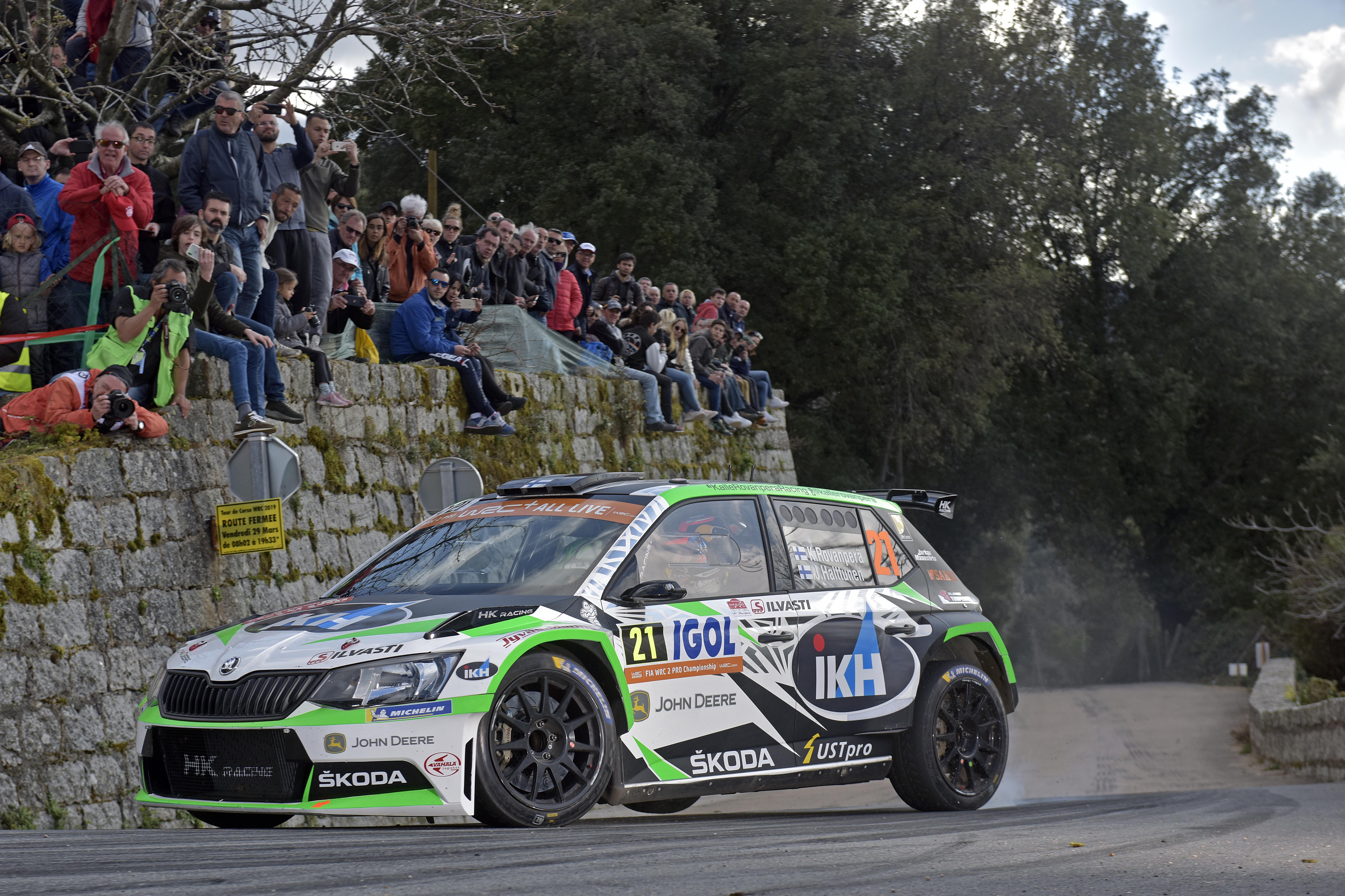 Category/skoda >> Rally France Tour De Corse Private Skoda Crews Secure