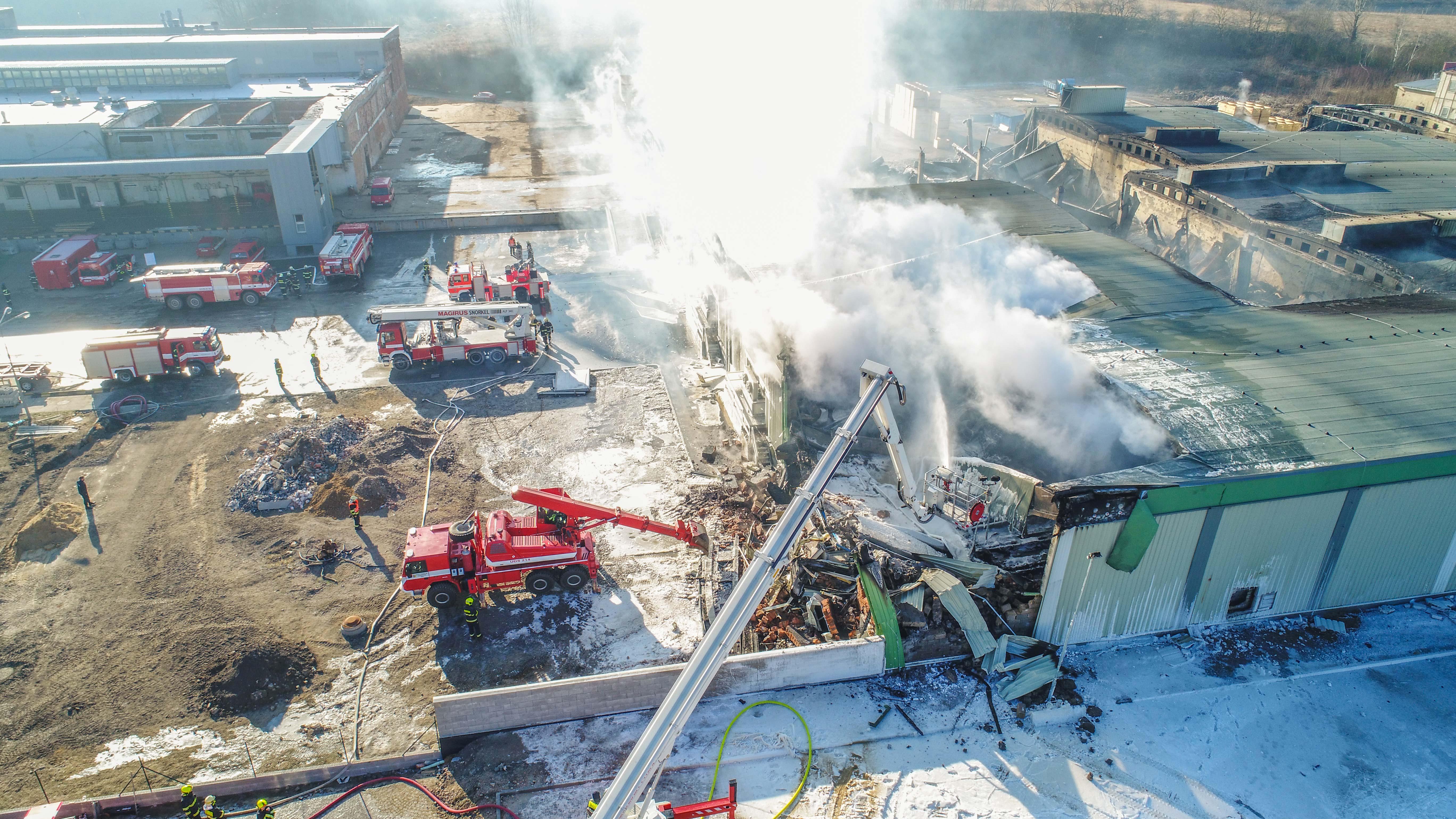 ŠKODA Fire Brigade Equipment: Drone, Robot, 60 m Platform