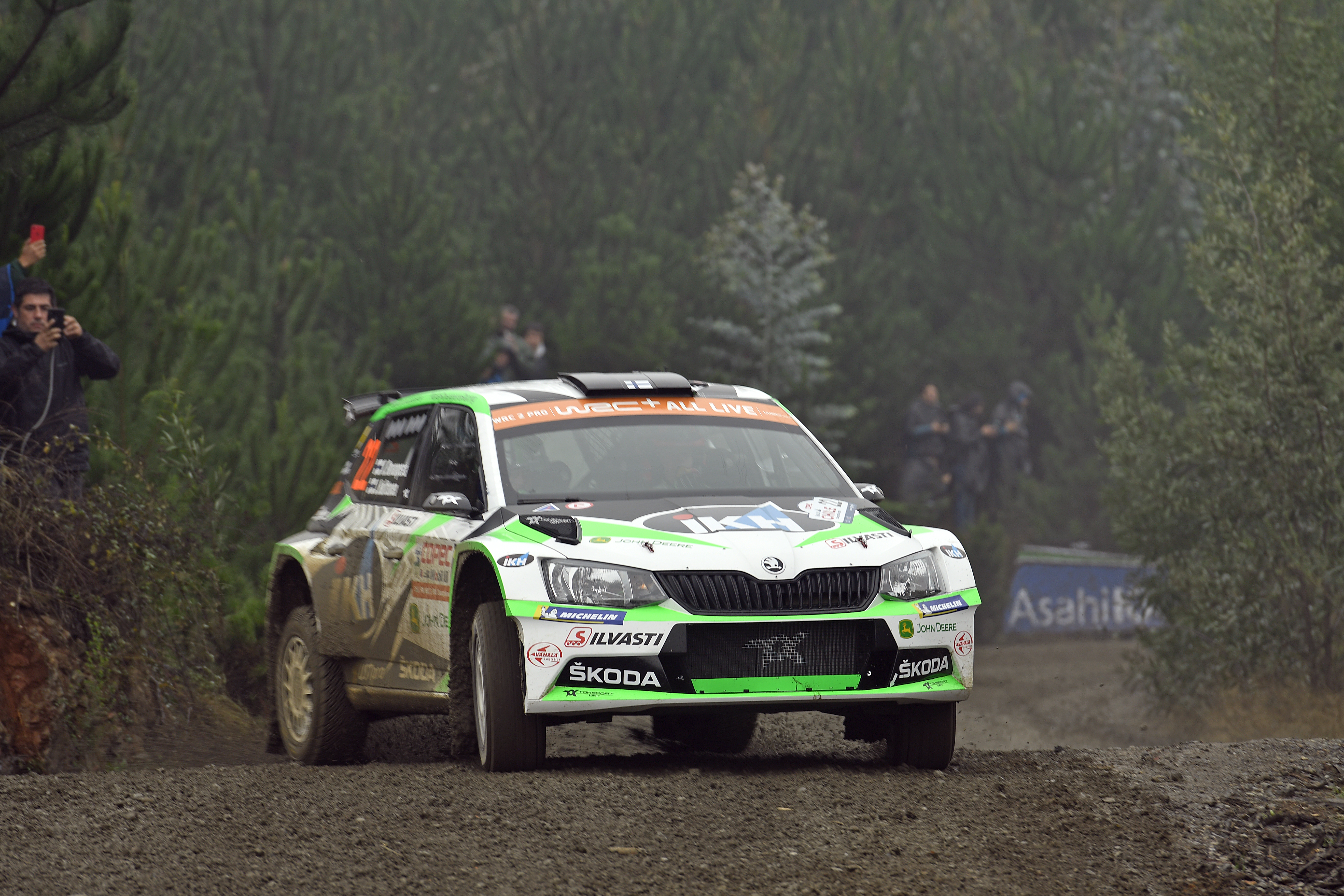 Category/skoda >> Rally Chile Skoda Works Driver Kalle Rovanpera Conquered