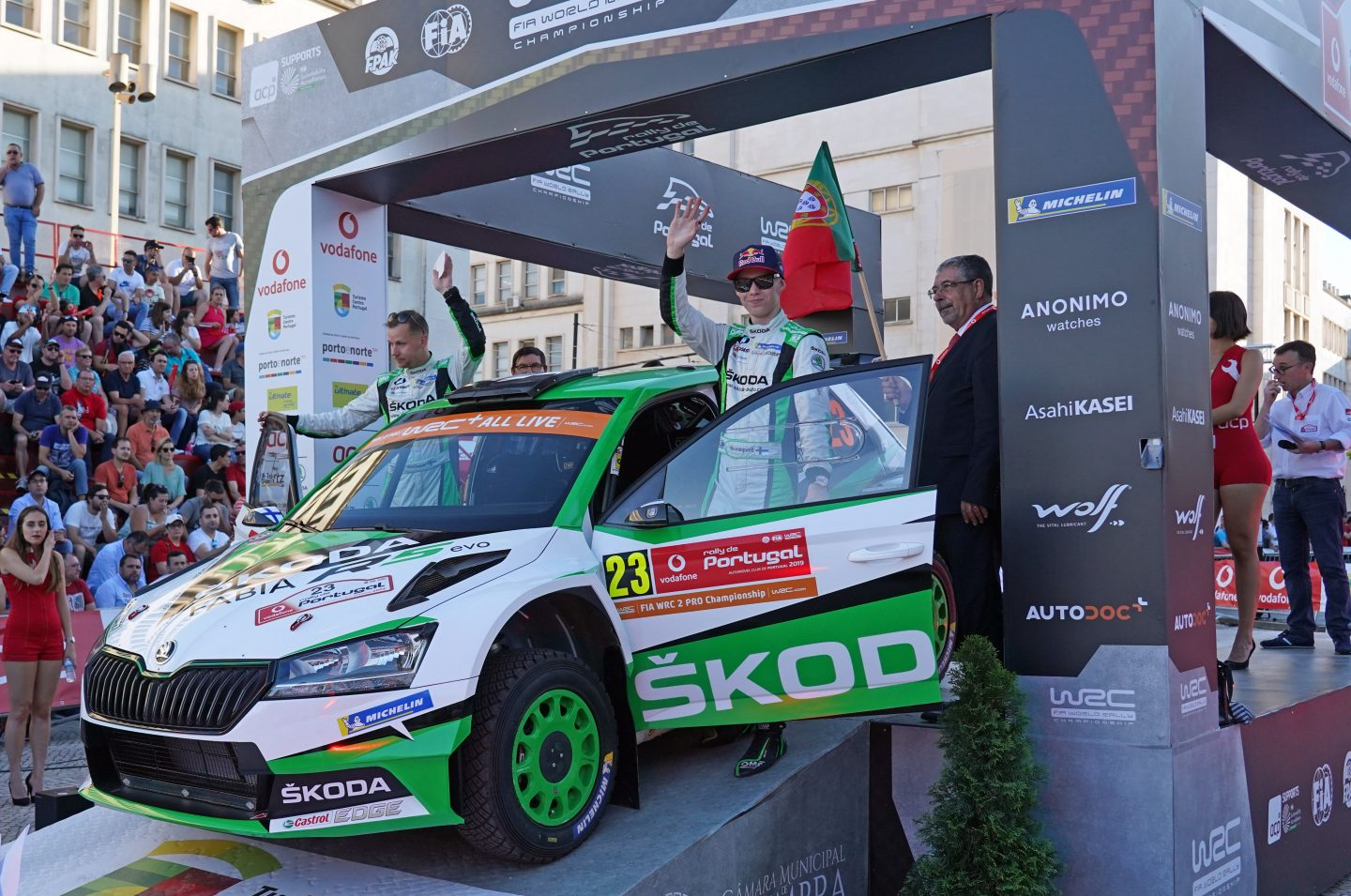 Rally Portugal 2019 Start ceremony