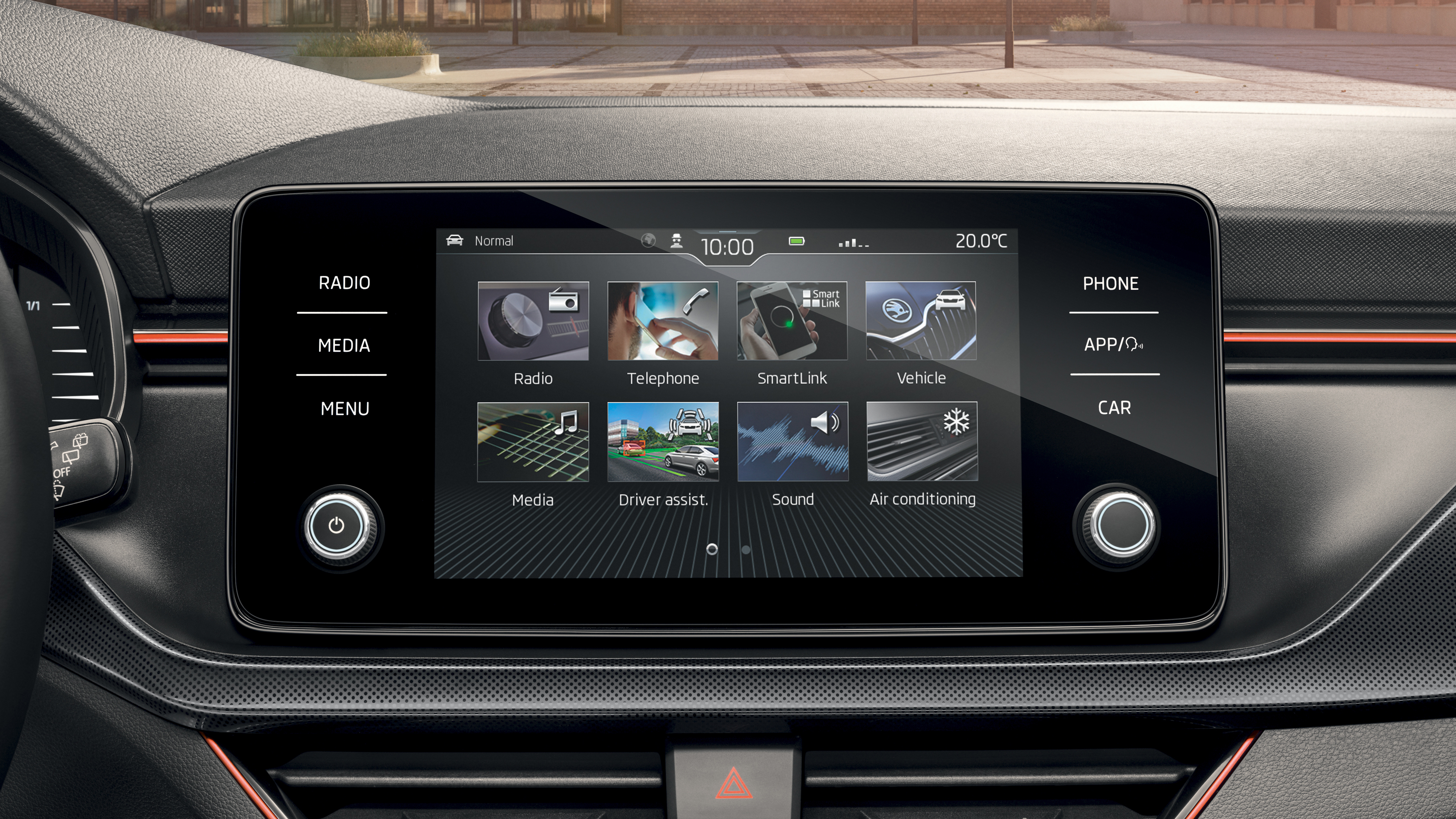 Infotainment System Bolero With 8 Quot Display Koda Storyboard