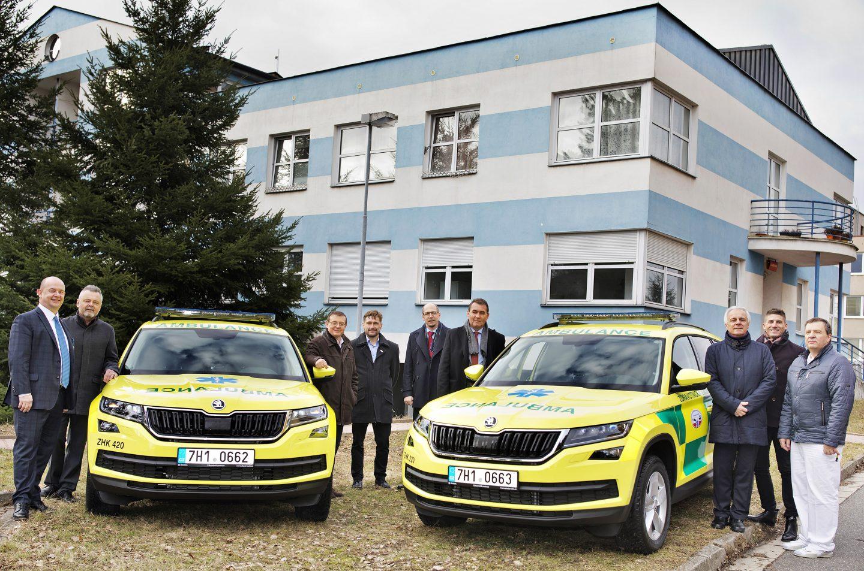 vozy Škoda Kodiaq, záchranná služba