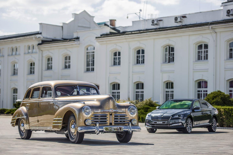 ŠKODA Muzeum představuje reprezentativní vůz ŠKODA SUPERB OHV z roku 1948