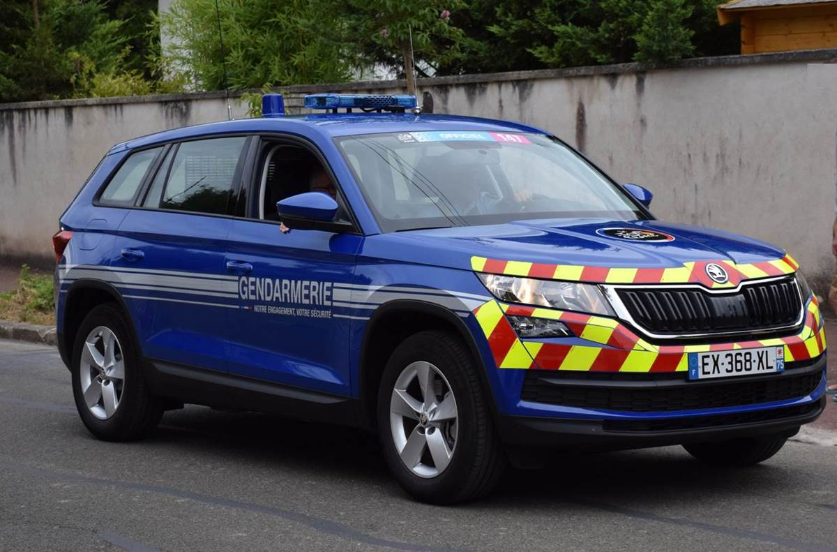 skoda-vehicle-gendarmerie-france