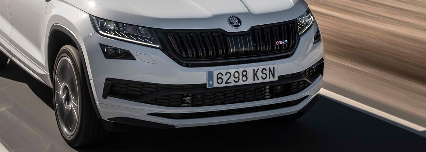 spain-skoda-car-license-plates