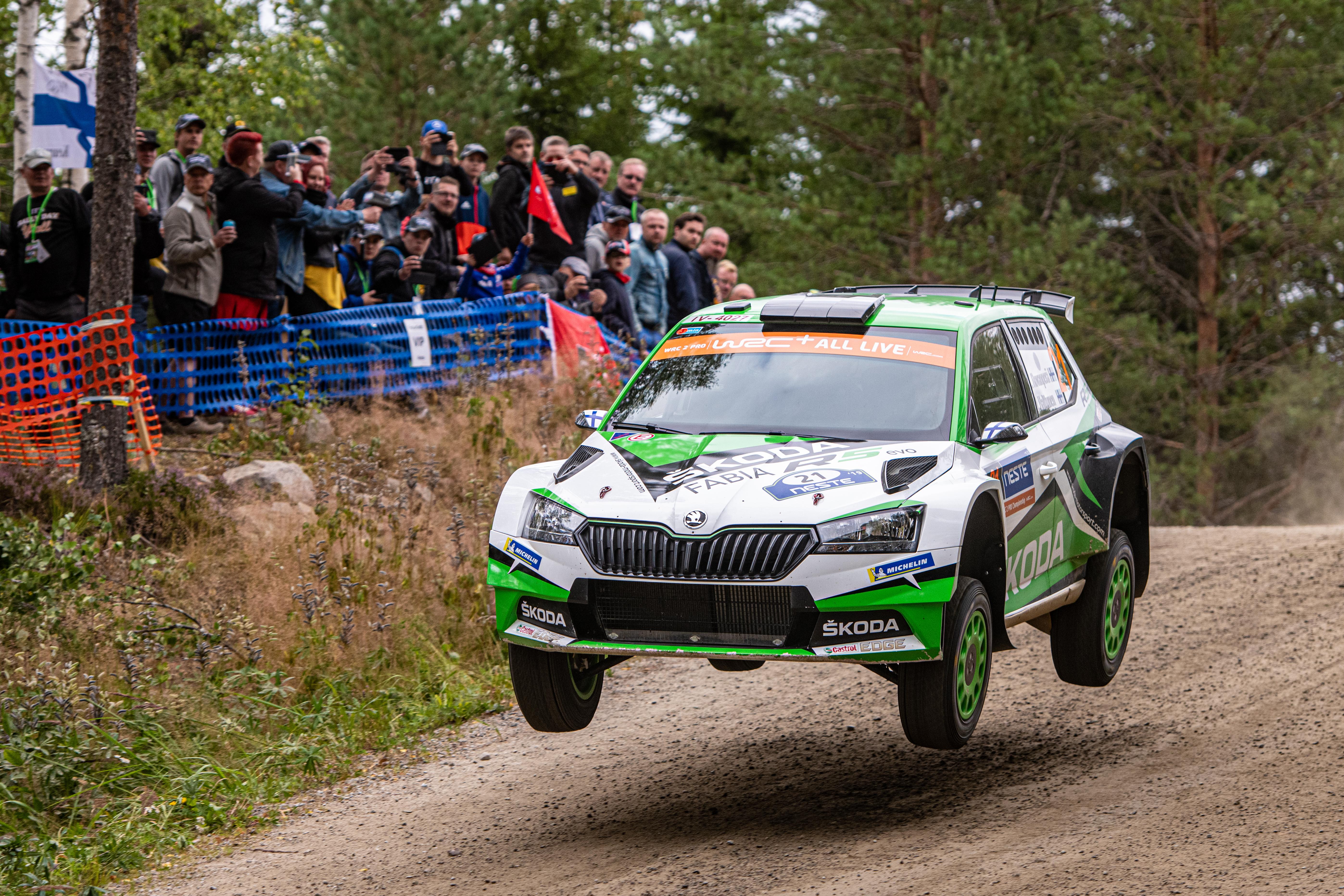 Category/skoda >> Neste Rally Finland Skoda S Local Hero Kalle Rovanpera