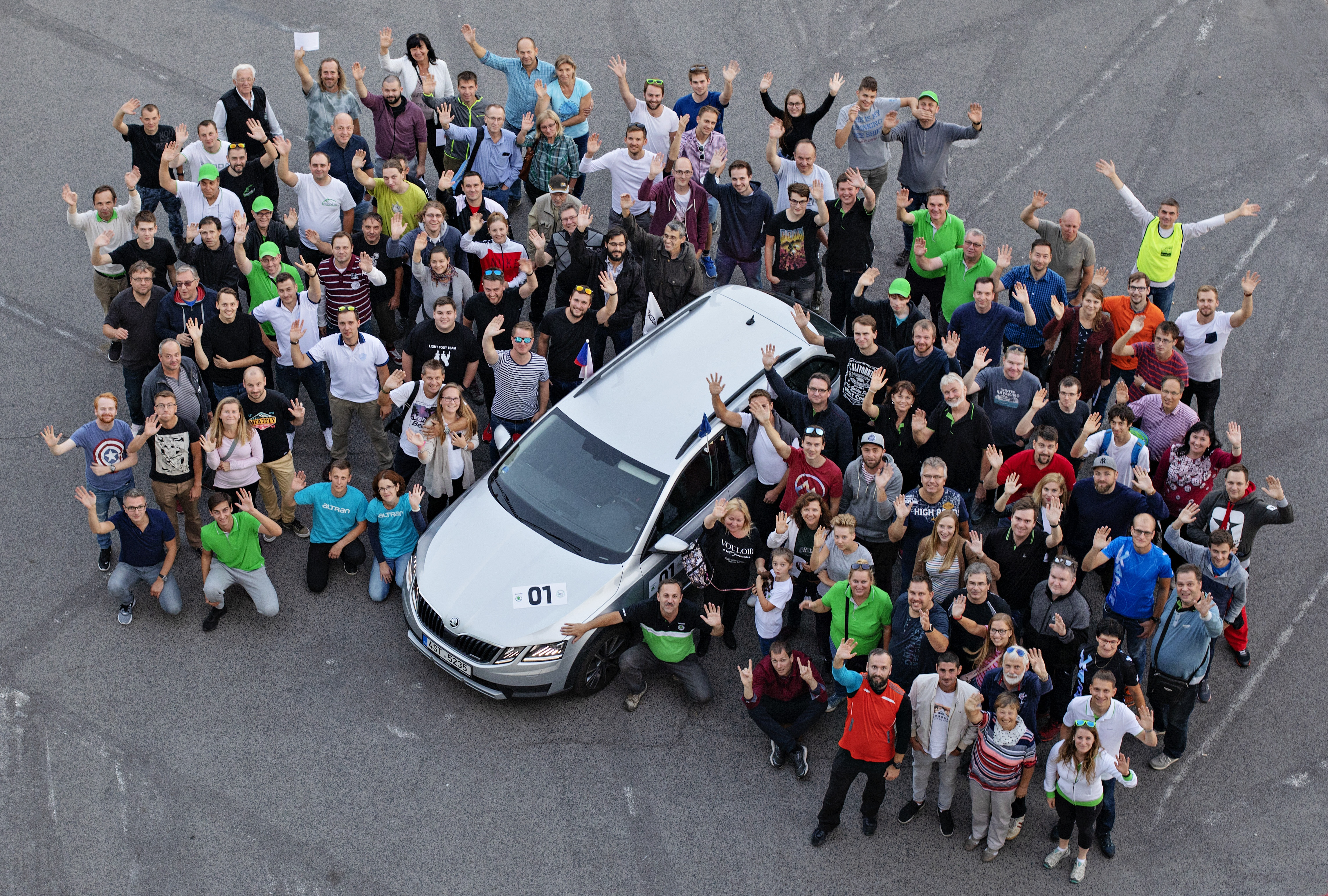 Letošního ročníku závodu ECONOMY RUN se zúčastnilo 64 posádek