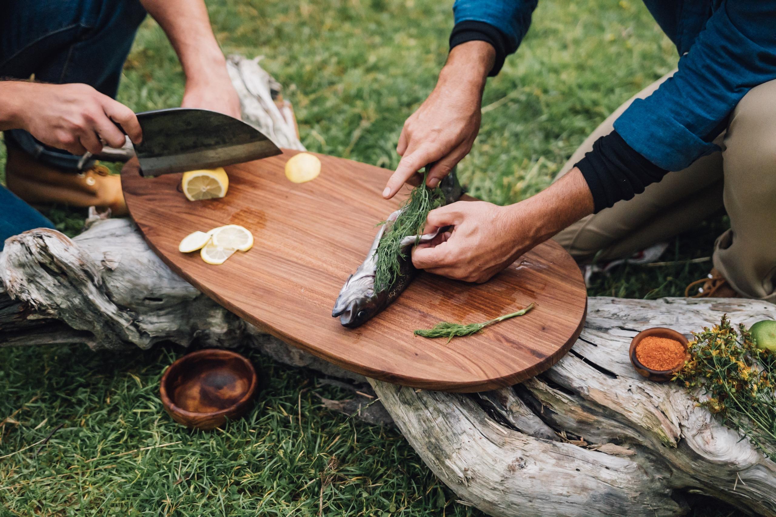 Cooking In The Wild With Skoda And Almazan Kitchen Lake Skoda Storyboard