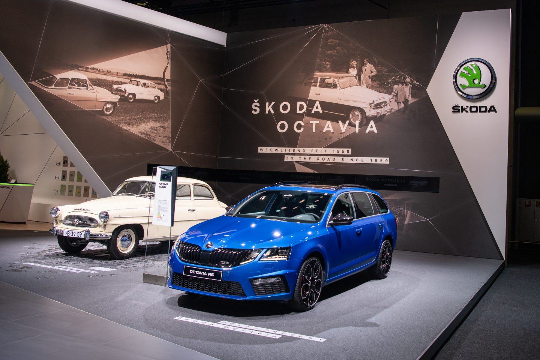 ŠKODA AUTO na frankfurtském autosalonu 2019